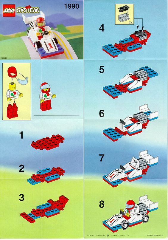 how to build a lego car step by step
