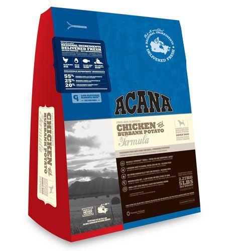 Acana Chicken And Burbank Potato Formula Dry Dog Food Acana Dog