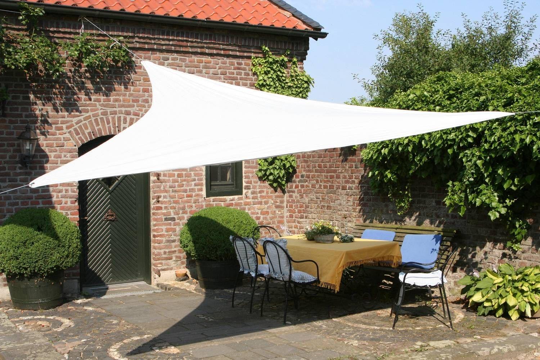 Vela Triangolare Da Giardino tenda a vela triangolare ombreggiante per arredo giardino