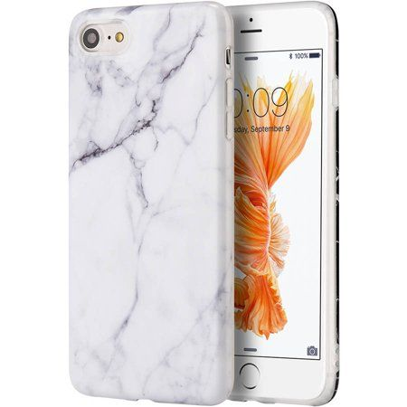 Mundaze Marble Jelly Skin Case for Apple iPhone 7 8 Plus