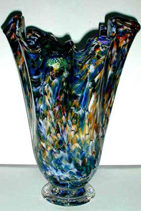 Blown Glass Art | Art Glass Vase