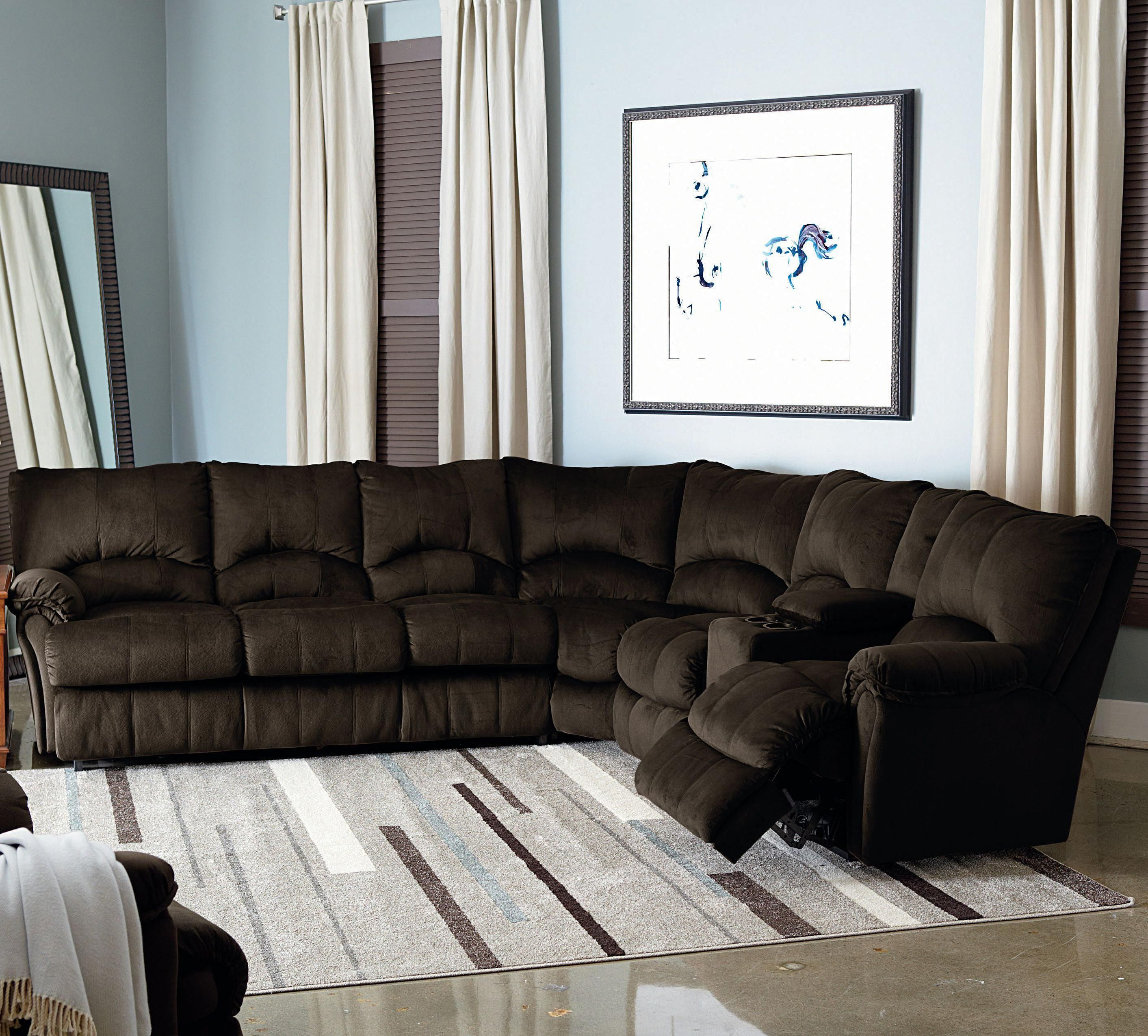 Table Behind Reclining Couch