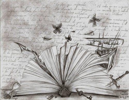 Wonderful Books Book Tattoo Open Book Tattoo Open Book Drawing