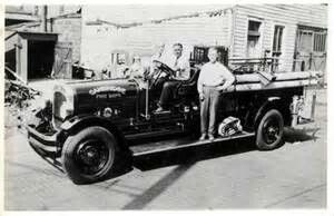 Late 1920s Seagrave engine.