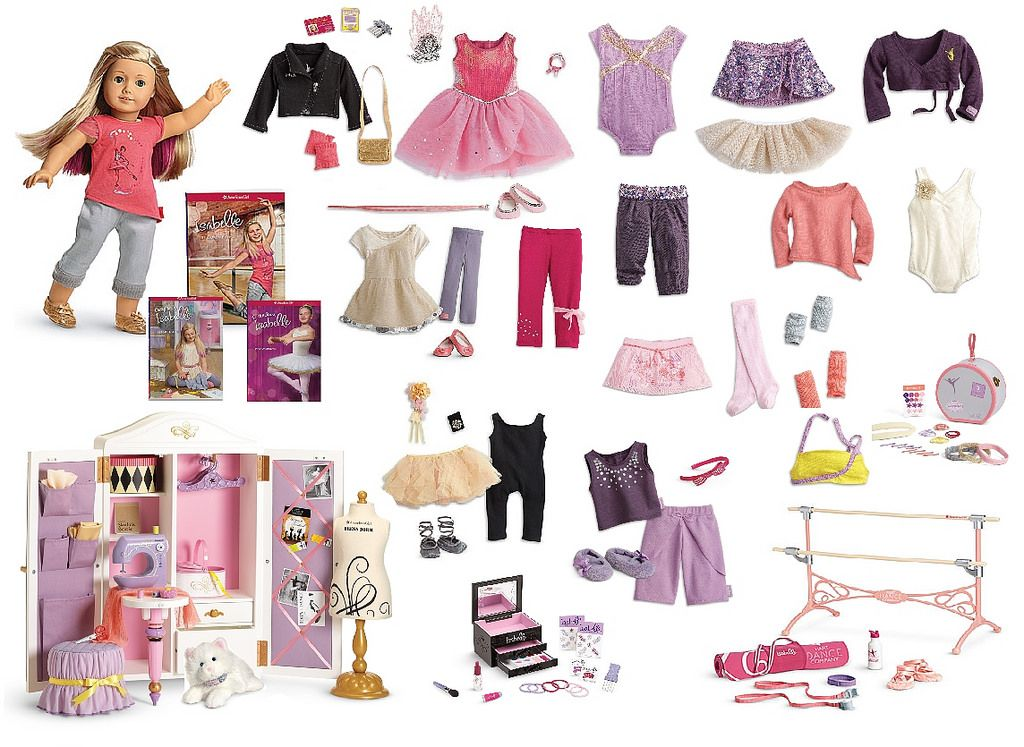 isabelle 2014 GOTY American girl doll sets, American