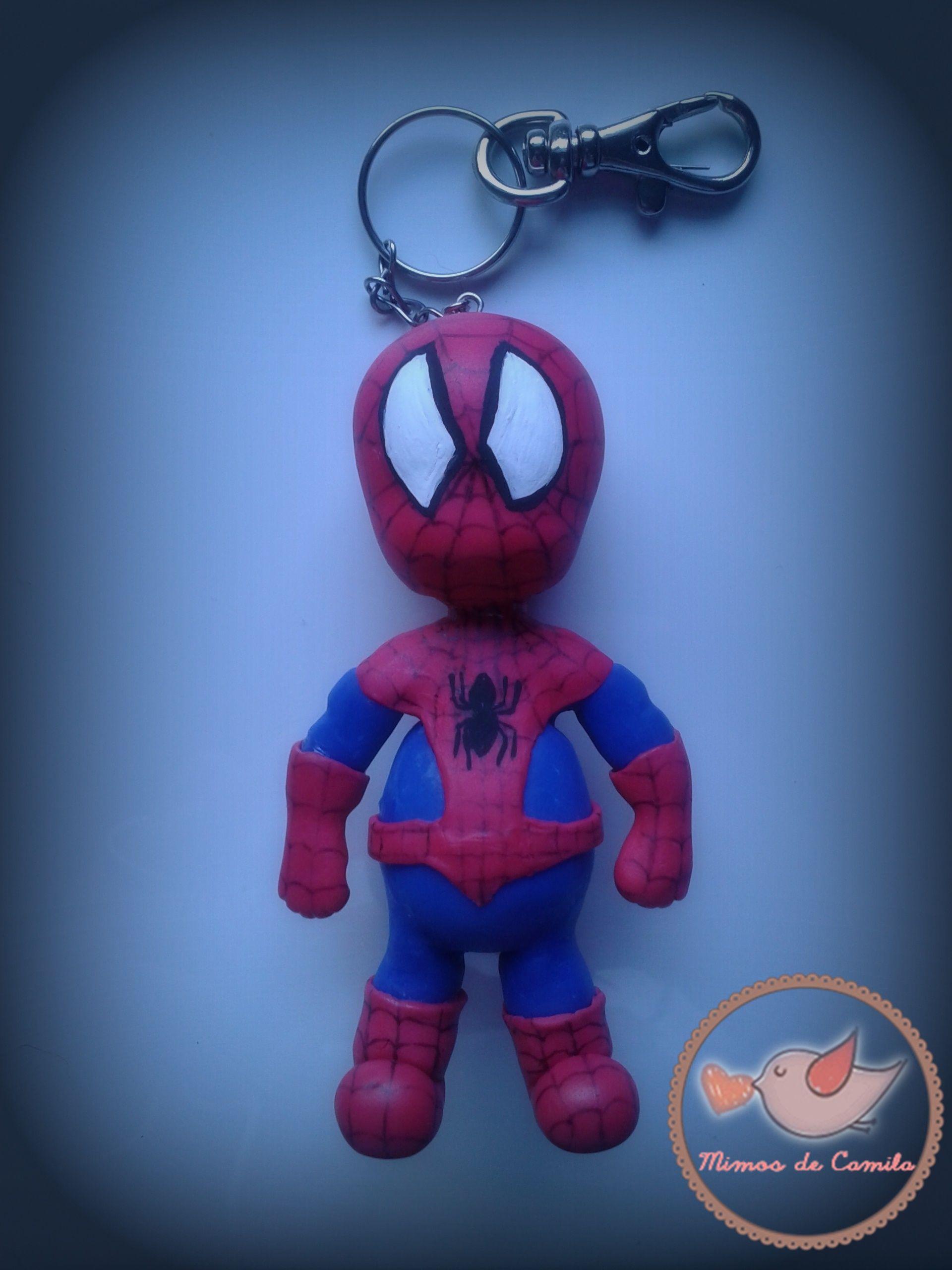 Homem Aranha fofinho / Cute Spiderman *-* Porcelana Fria / Cold Porcelain