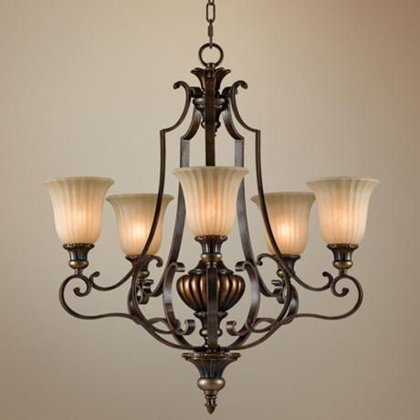 Feiss Kelham Hall Collection 27 Wide 5 Light Chandelier 5