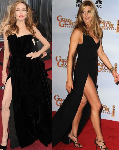 Jennifer Aniston: always looking better than Angelina, since 2005