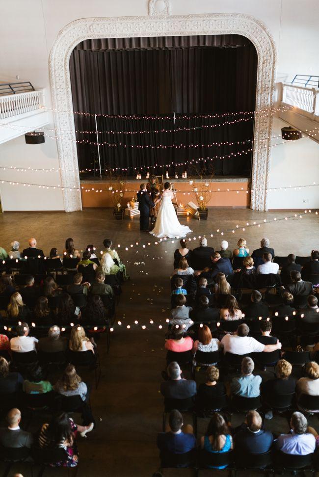 Tivoli Turnhalle Wedding Denver Ceremony