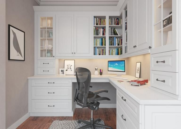 Office Cabinets Pre Assembled Office Room Cabinets Office Cabinets The Rta Store Home Office Design Office Cabinets Home Office Space
