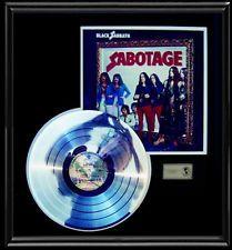 Black Sabbath Sabotage Rare Lp Gold Record Platinum Disc Album Frame Black Sabbath Albums Black Sabbath Album Frames