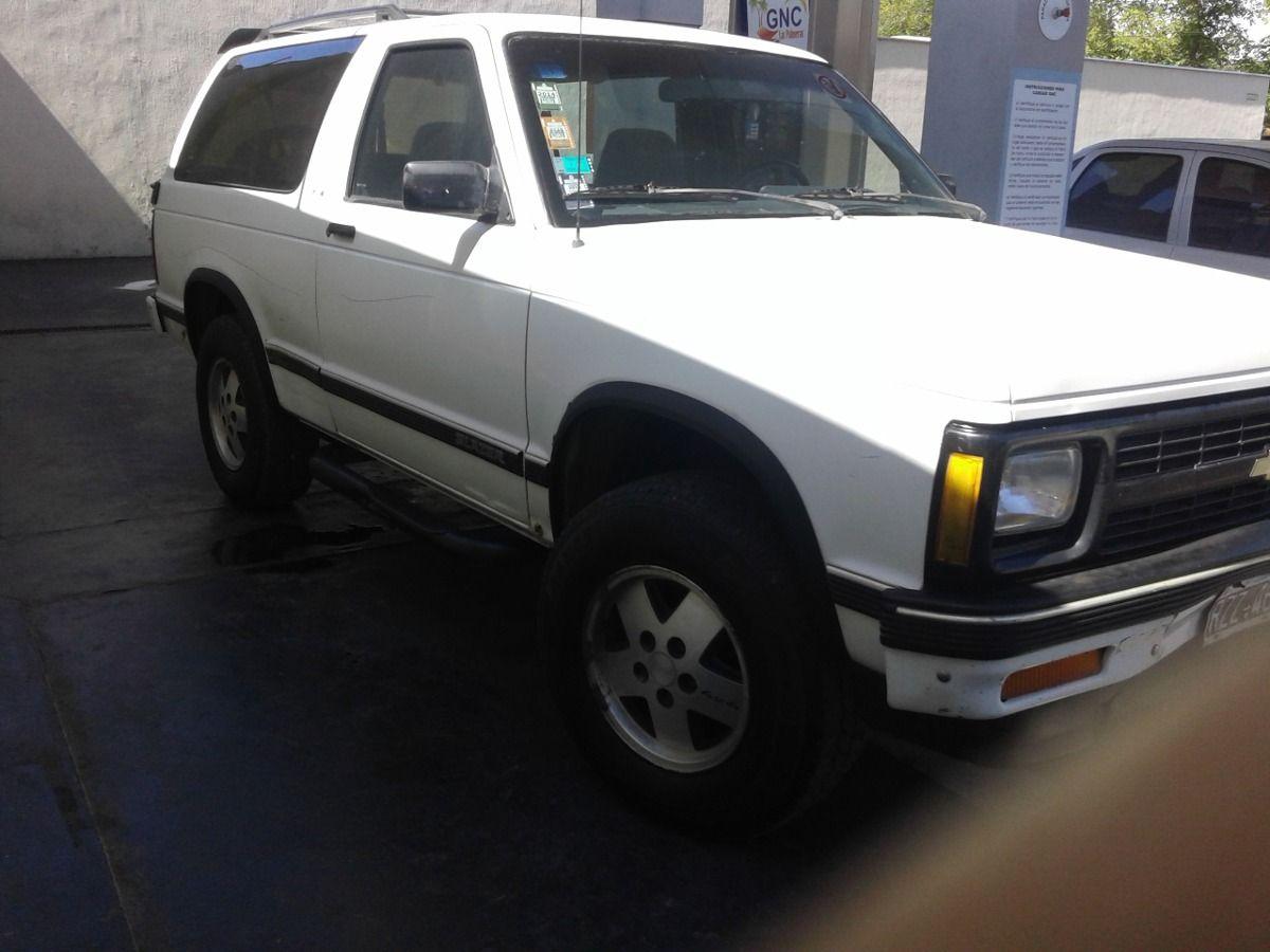Oportunidad Vendo O Permuto Camioneta Chevrolet Blazer 4x4 - Año 1992 - 285000 km - en Mercado Libre