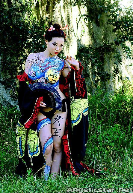 large5 | Yakuza tattoo bodypaint project Painted by Nick