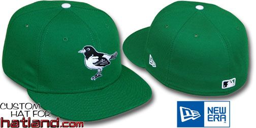 Orioles 'St Patricks Day' Fitted Hats by New Era - green - Size 7.25