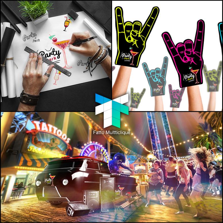 Imagine a #balada dos sonhos. Nós fomos convidados para desenvolver a #identidadeVisual de uma nova festa que deve chegar ao Brasil em 2016. Já realizamos alguns estudos que foram apresentados para os donos da #marca.