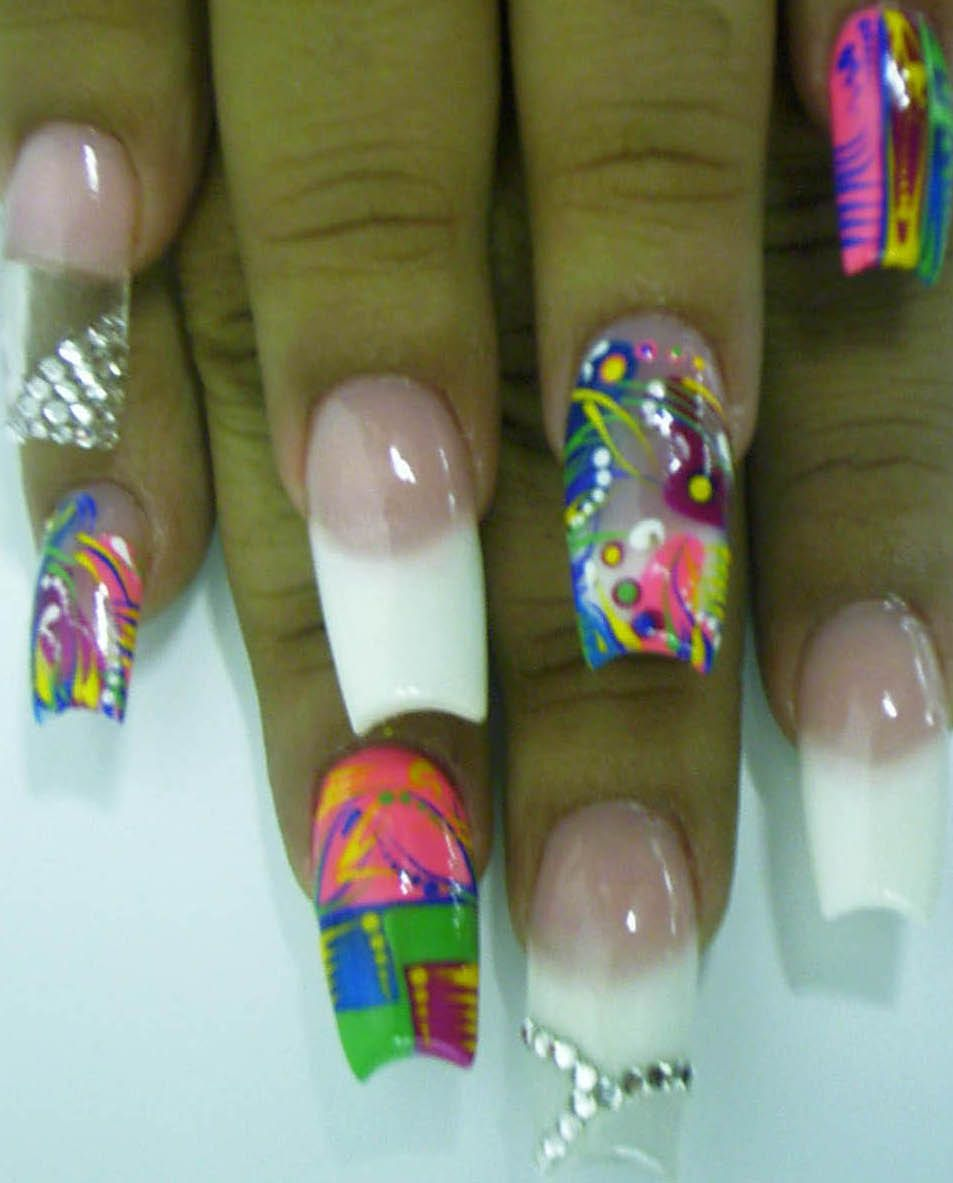 detroit nail art designs | Something Different - Nail Art Archive ...
