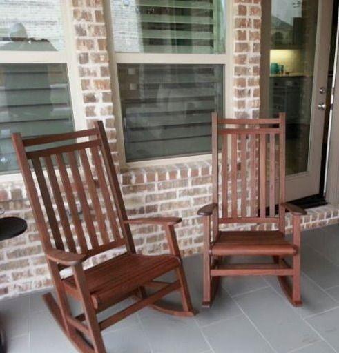 Jensen Leisure Ruby Rocker Enjoy Your Outdoor Room   Yard Art Patio U0026  Fireplace