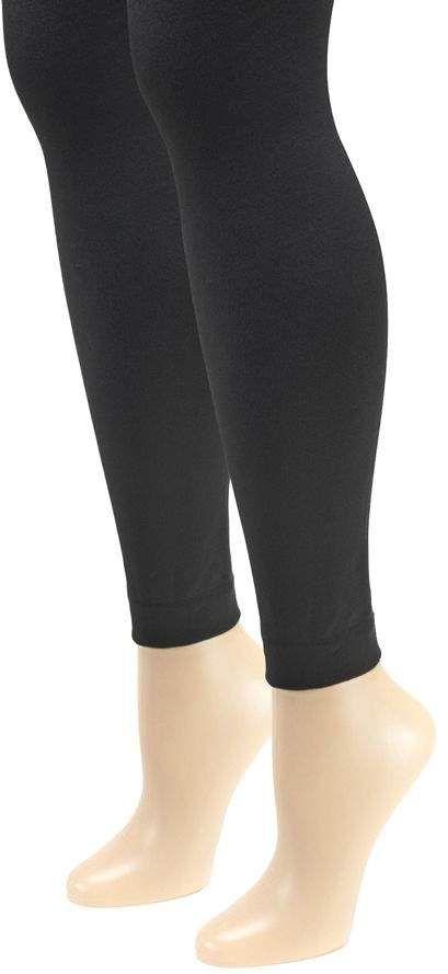 3e36a5de981af Muk Luks Women's Fleece-Lined Footless Tights 2 -Pair Pack #Women#Fleece#Muk