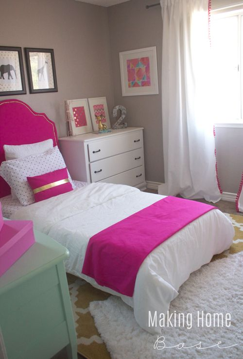 Superbe Decorating A Small Bedroom   My Daughteru0027s Room Makeover.but Use Boy Colors