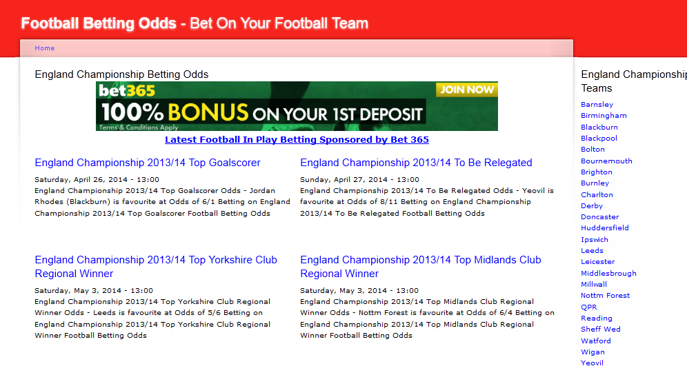 UK Betting Ads Featured In 95% Of Football Matches