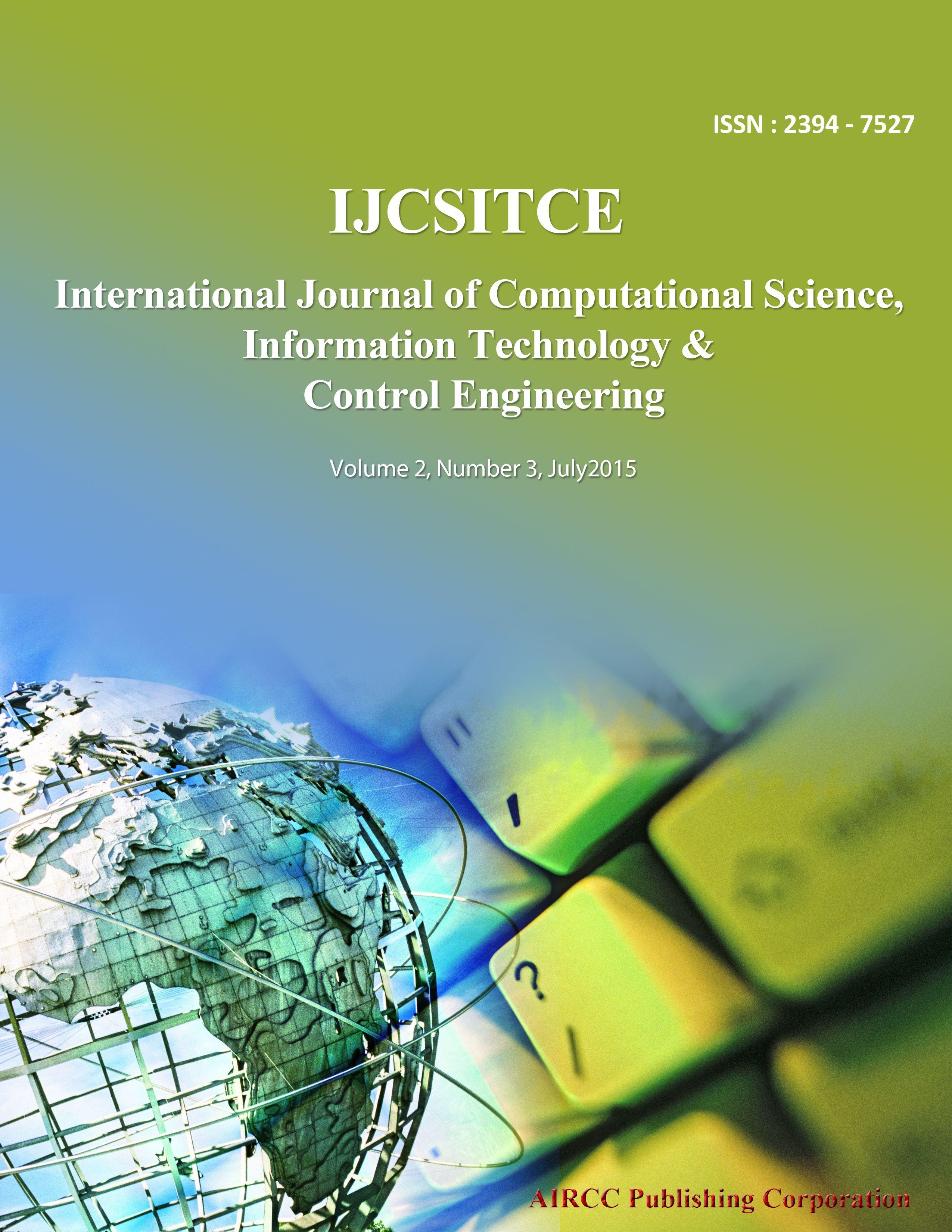 The International Journal Of Computational Science Information