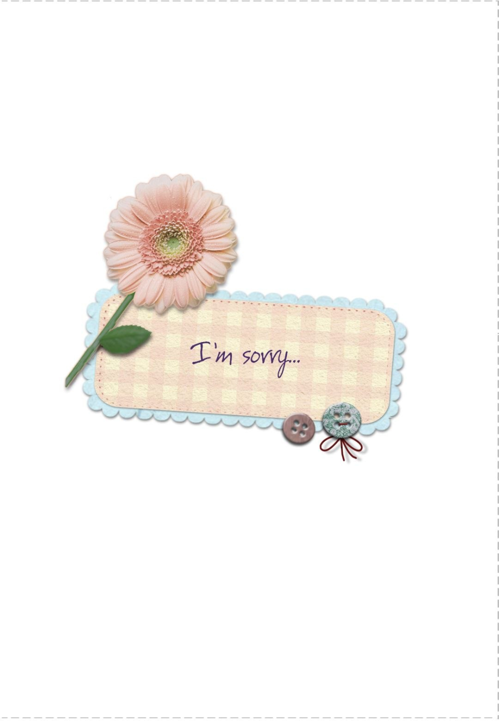 Apology Card Free Printable I M Sorry Apology Cards Sorry Cards Inside Sorry Card Template 10 Professional Sorry Cards Apology Cards Thank You Card Template