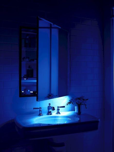 Mirrored Cabinet With Night Light Bathroom Lights Eliminate Your Children S Scare Check More At