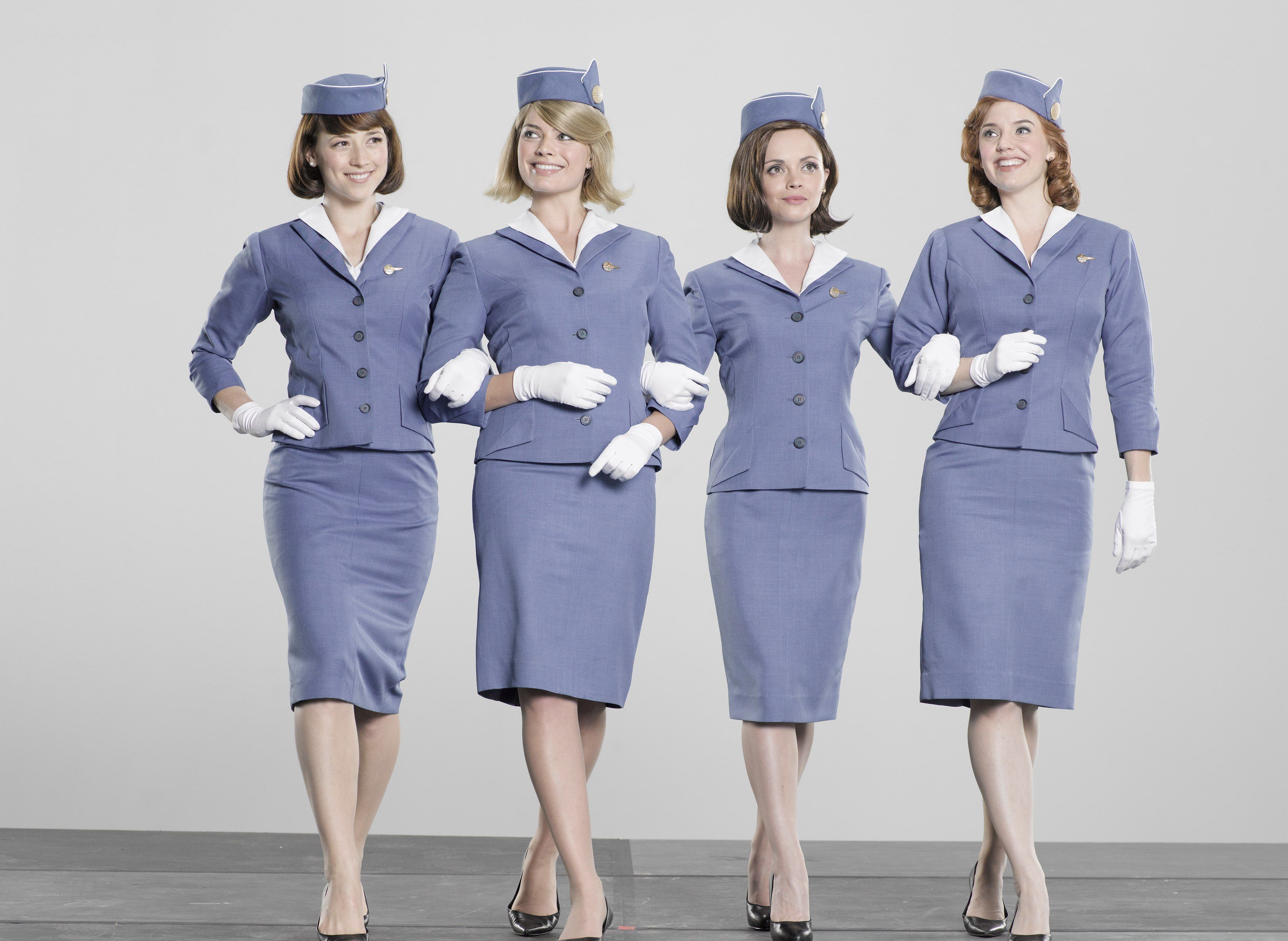 74c97e3da4e Pan-Am: Karine Vanasse, Margot Robbie, Christina Ricci, and Kelli ...