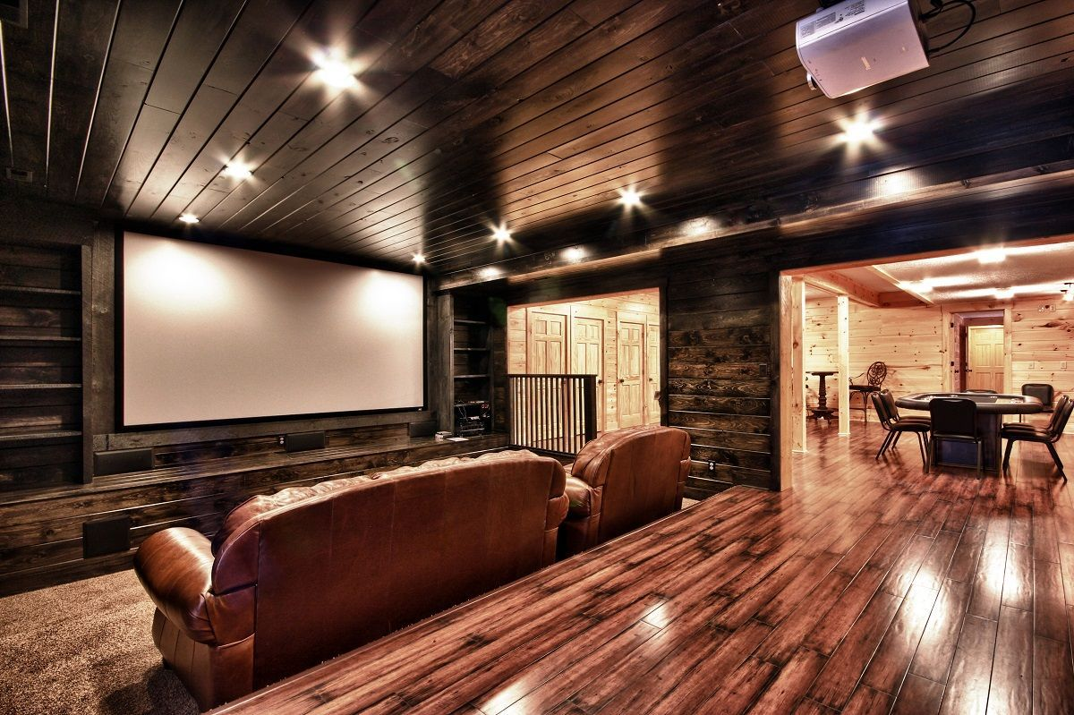Ridge Retreat - Hocking Hills, OH, USA ... Home TheaterHome Theater