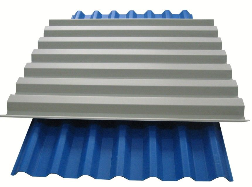 Corrugated Plastic Roofing Sheets Color Fireproof