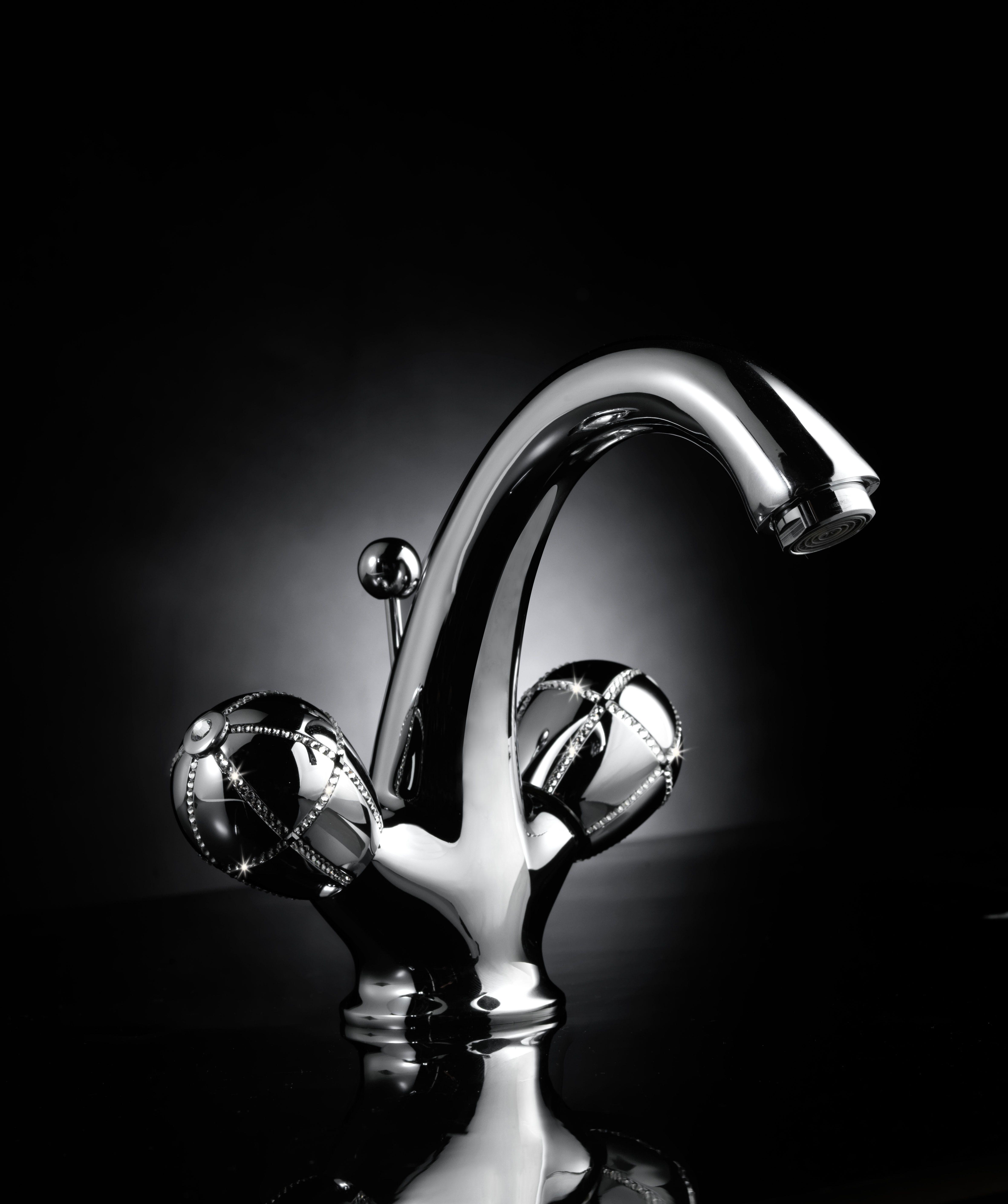 Klass Faucet With Swarovski Faucet Pinterest Faucet Bathroom