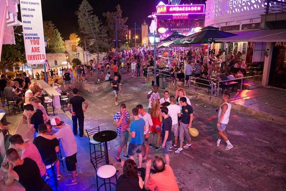 Bar Street Ayia Napa Cyprus  Ayia Napa, Bar Street, Cyprus-7278