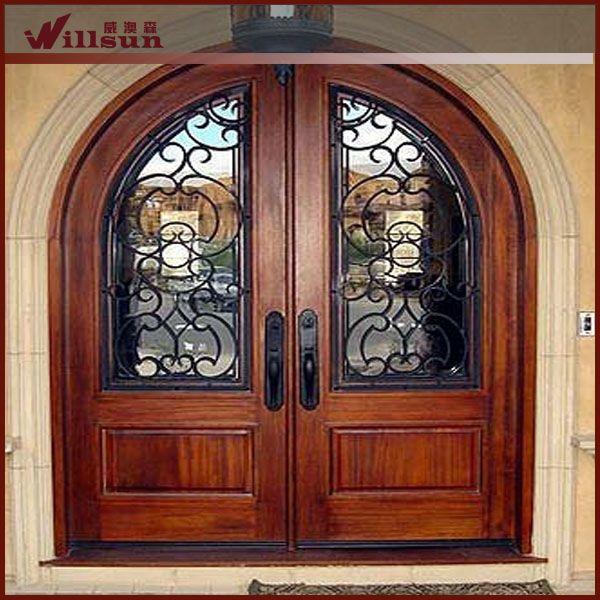 ferforje ahşap çalışması dış kapı modelleri ile ilgili görsel ...