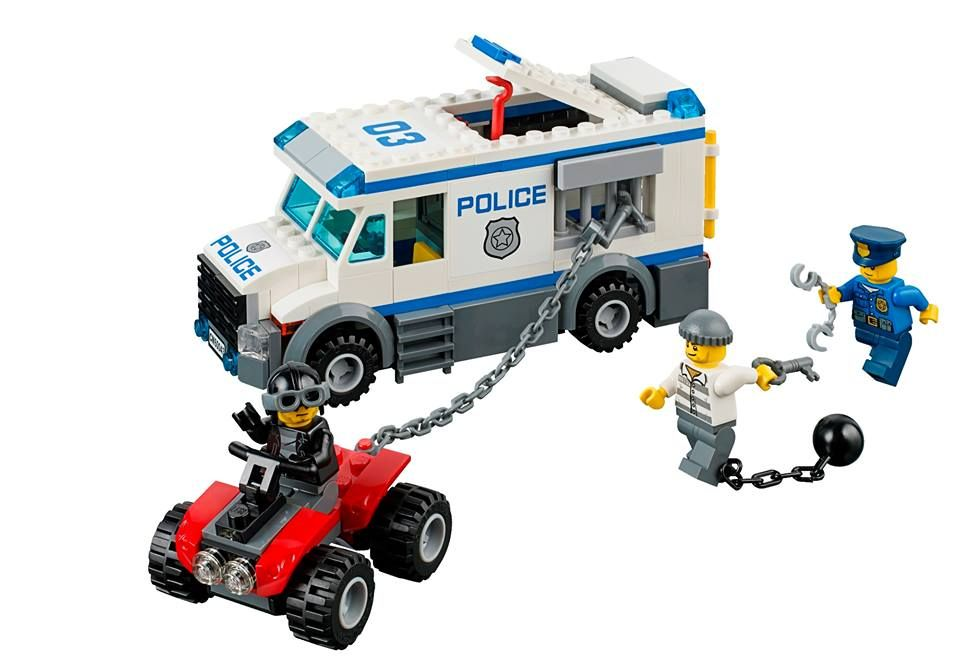 how to make a lego police truck