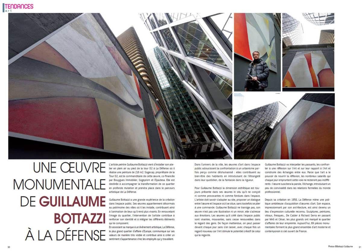 Guillaume Bottazzisur le Magazine Tendances du 15/12/2014