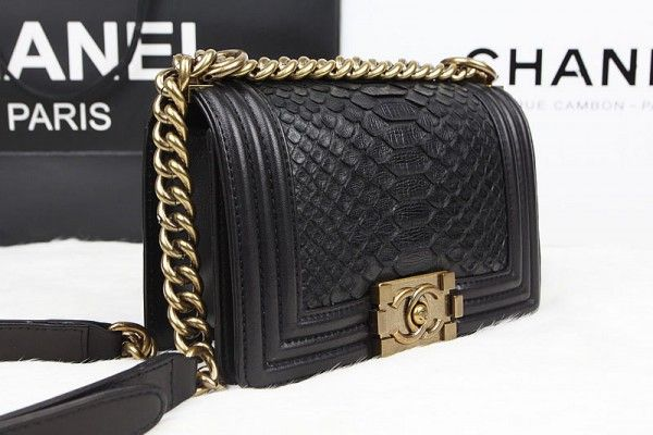 285dcb4ad47b Chanel Small Python Classic Flap Bag $6,700 | Purses in 2019 | Bags ...