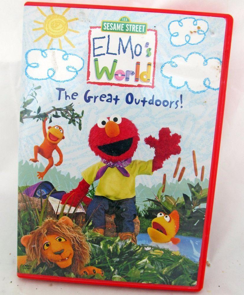 Sesame Street Elmo's World: The Great Outdoors (DVD, 2003 ...