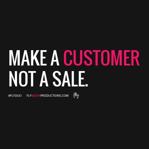 Make A Customer Not A Sale Katherine Barchetti Qotd Quote Business Customerexperience Business Quotes Business Motivation Quotes That