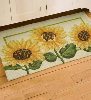Kitchen Rug Sunflower
