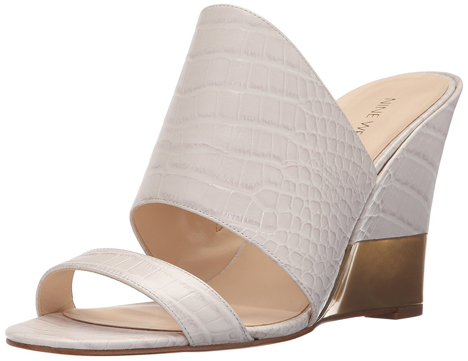 c945f04166e Nine West Women s Aniya Croco Wedge Sandal    Be sure to check out this  awesome product. (This is an Amazon affiliate link)