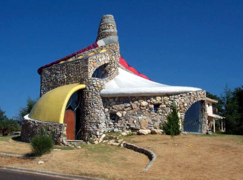 Lubbock, Texas Ransom Canyon house. Crazy houses