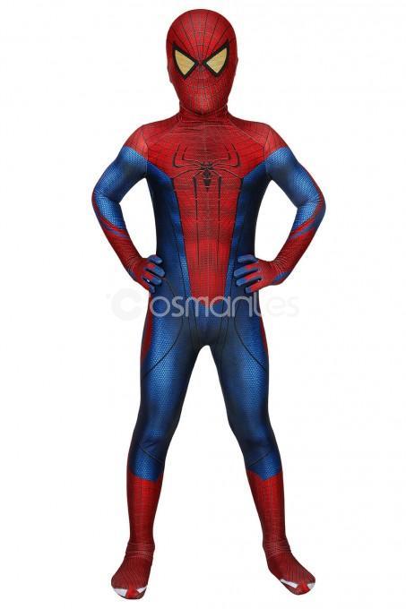 New The Amazing Spiderman Jumpsuit Amazing Spiderman Spiderman Jumpsuit For Kids