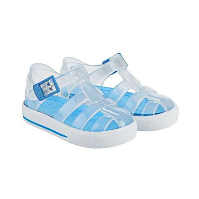 4f77150ce23221 Clear Baby Blue Igor  Tenis  Jelly Sandal - PRE-ORDER!
