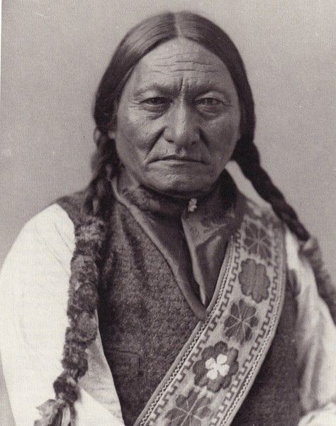 Sitting Bull Portrait