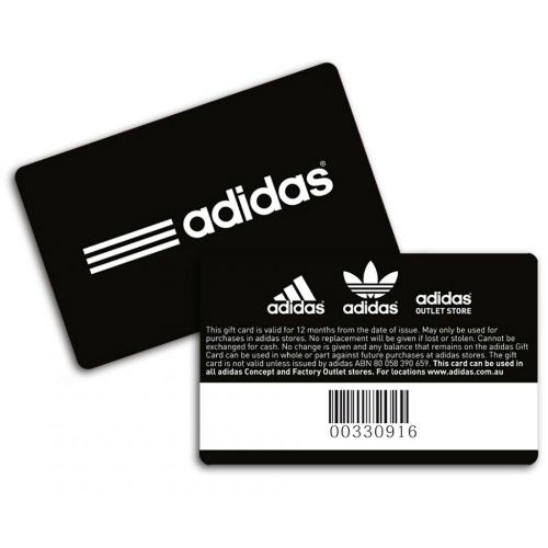 16% off $60 adidas Gift Card : Only $50 | Adidas gifts. Adidas store. Gift card
