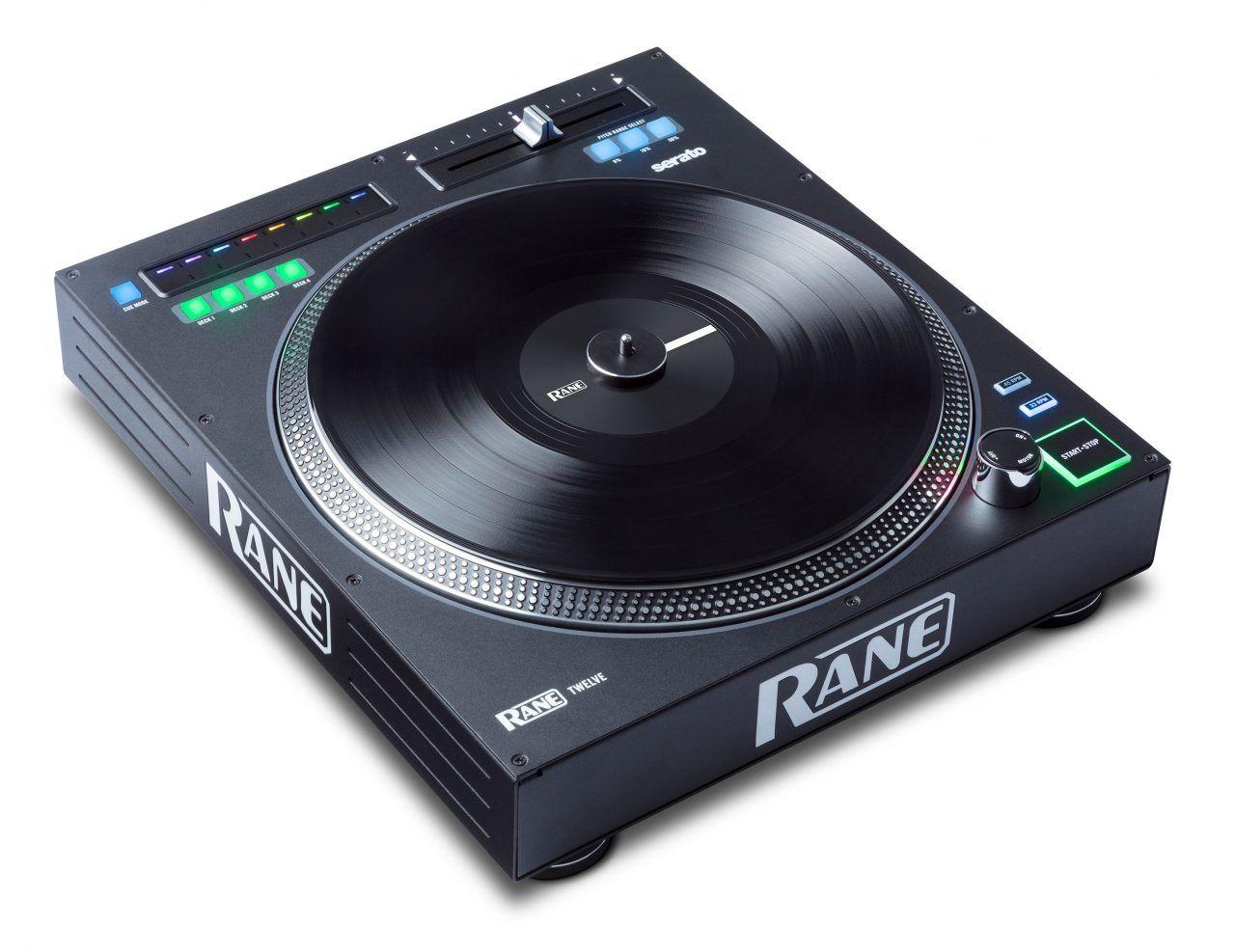 Dj Expo 2017 Rane Twelve 12 Inches Of Digital Pleasure Digital Dj Dj Equipment Turntable