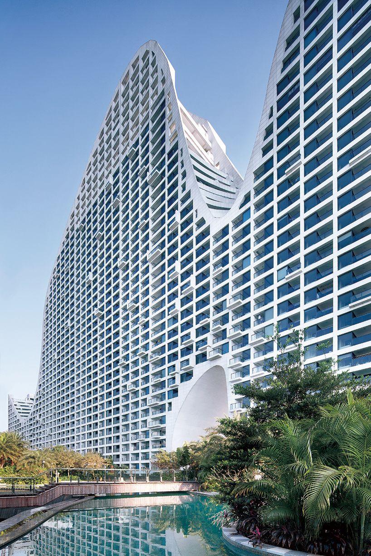 Mad Architects Fake Hills Community In Beihai China Art