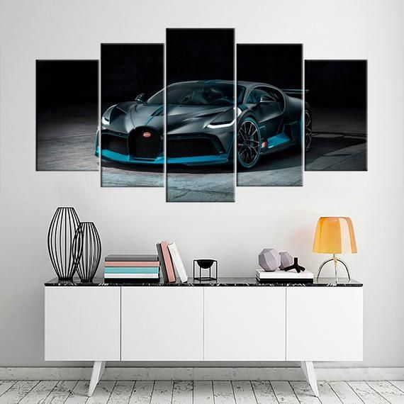 Bugatti Divo Large Wall Art Bugatti Cars Ready Framed Canvas Super Car Canvas Print Wall Art Automobile Print Art Painting Gift For Him Large Wall Art Wall Art Prints Canvas Frame