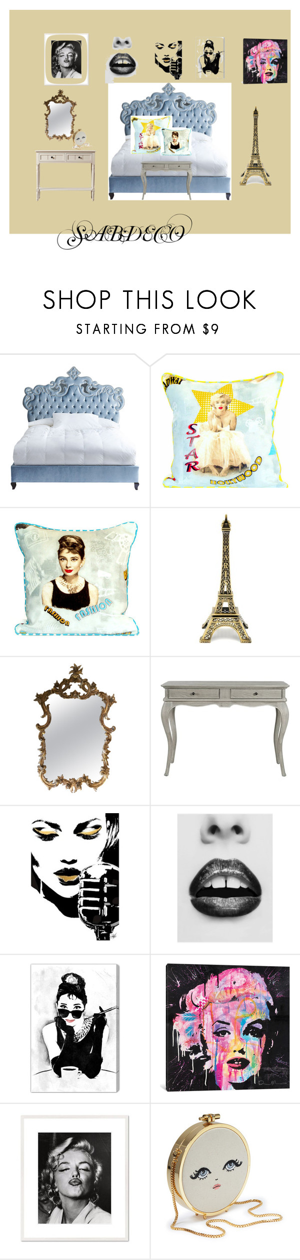 """""""sABDECO"""" by sharon-pipkin on Polyvore featuring interior, interiors, interior design, home, home decor, interior decorating, Haute House, Oliver Gal Artist Co., iCanvas and 1000Museums"""
