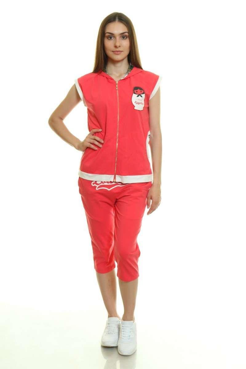 814d6f7952c Женский спортивный костюм с бриджами AS8-SK-919  продажа